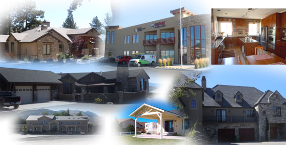 A Composite Image of just Some of Jason Warfield Residential Design Projects