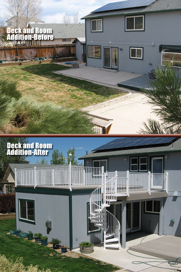 Deck And Room Addition by Jason Warfield Residential Design