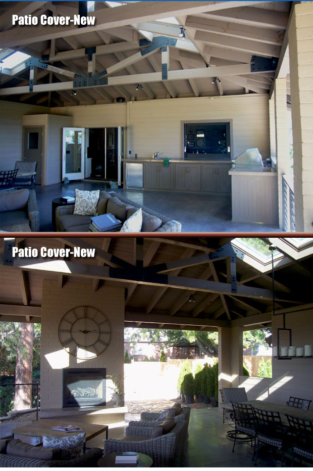 New Patio Cover by Jason Warfield Residential Design